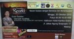 Tiket Seminar 7 Keajaiban Rezeki